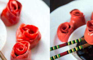 Wow Your Partner with a Rose Shaped Chocolate Momo