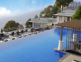 Bliss in the Moksha Himalaya Spa Resort, Parwanoo