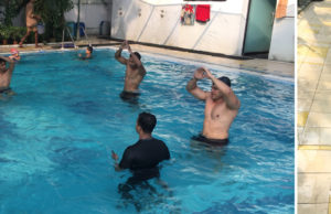 Beat the Sweltering Heat with Skulpt Aqua Aerobics workshop