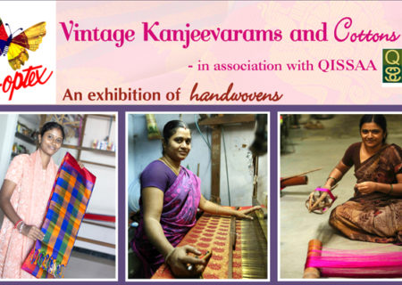 Qissaa and Co-Optex Present Handloom Weaves
