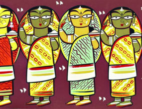 Jamini Roy Exhibition At Nazrul Tirtha