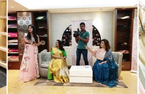 Clothing Designer Sasya's Women of Substance Saree Draping Event