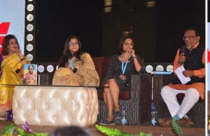 Incredible Indira! Sagarika Ghosh, Devapriya Roy,  Priya Kuriyan With Mudar Patheriya