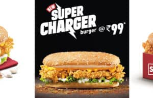 KFC Introduces the Super Charger Burger
