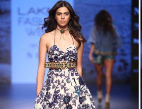 Label Ritu Kumar Brought The Magic Of Native Glamour at LFW 2018