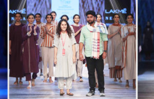 Fusion Of Technology And Fashion At Lakmé Fashion Week Winter/Festive 2018