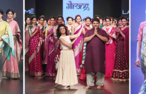 Gaurang's Savitri Show Was A Grand Fashion Tribute At LFW 2018