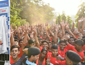 Fitness is Fun−Witnessing the JSR Run-a-thon