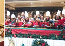 The Oberoi Grand Kolkata's Cake Mixing Brings Early Christmas Cheer