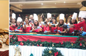 The Oberoi Grand Kolkata's Cake Mixing Brings Early Christmas Cheer
