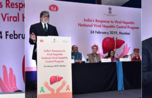 WHO Goodwill Ambassador Amitabh Bachchan Welcome India's Hepatitis Initiatives
