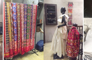 A Clutch of Kutch: interactive craft and couture at Ekru, the designer store