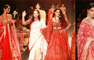 Saroj Jalan presented 'BANJI' collection at Lakme Fashion Week  Autumn/ Winter 2019