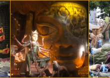 Ma Durga Comes Around and Enthralls Us As Usual