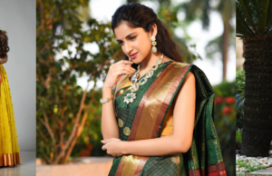 Dolly Jain Drapes the Stylish Woman For Diwali