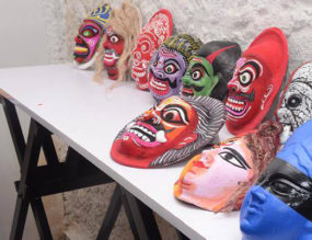 Making Chau Masks