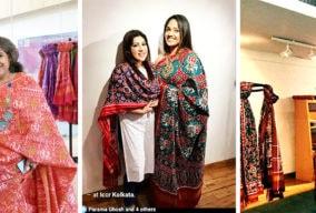 Qisaa's Beautiful Patola Exhibition