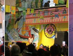 Art rickshaw Kolkata Arts Lane Festival