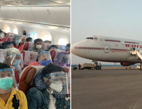 """I Believe in Miracles!"" − On the Vande Bharat Repatriation Flight"